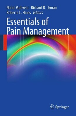 Book Essentials of Pain Management by Nalini Vadivelu