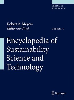 Book Encyclopedia of Sustainability Science and Technology by Robert A. Meyers