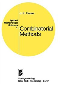 Book Combinatorial Methods by Jerome K. Percus