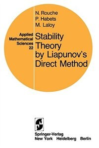 Book Stability Theory by Liapunov's Direct Method by Nicolas Rouche