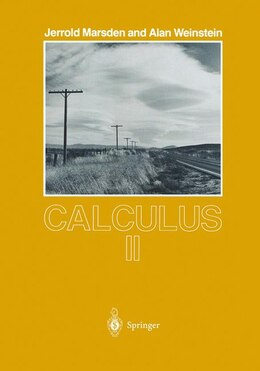 Book Calculus II by Jerold Marsden