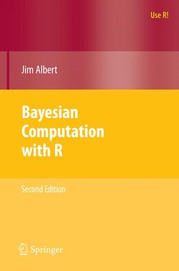 Book Bayesian Computation with R by Jim Albert