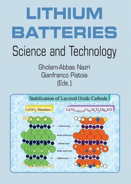 Book Lithium Batteries: Science and Technology by Gholam-Abbas Nazri