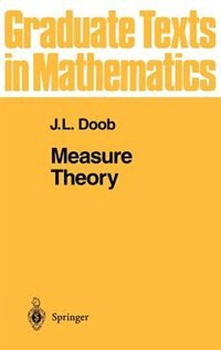 Book Measure Theory: MEASURE THEORY by J.L. Doob