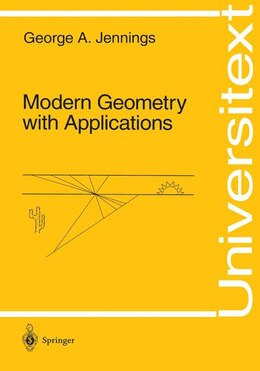 Book Modern Geometry with Applications: MODERN GEOMETRY W/APPLICATIONS by George A. Jennings