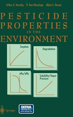 Book Pesticide Properties in the Environment by A.G. Hornsby