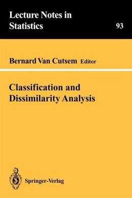 Book Classification and Dissimilarity Analysis by Bernard van Cutsem