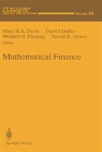 Book Mathematical Finance by Mark Davis