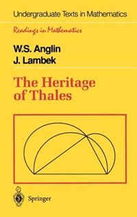 Book The Heritage of Thales: HERITAGE OF THALES by W.S. Anglin