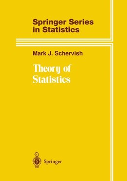 Book Theory of Statistics: THEORY OF STATISTICS 1995. COR by Mark J. Schervish