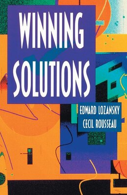 Book Winning Solutions: WINNING SOLUTIONS by Edward Lozansky