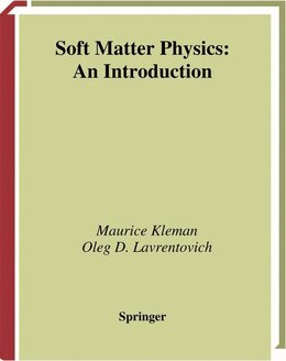Book Soft Matter Physics: An Introduction by Maurice Kleman