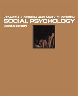 Book Social Psychology by K.J. Gergen