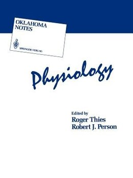 Book Physiology by Roger Thies