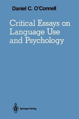 Book Critical Essays on Language Use and Psychology by Ragnar Rommetveit