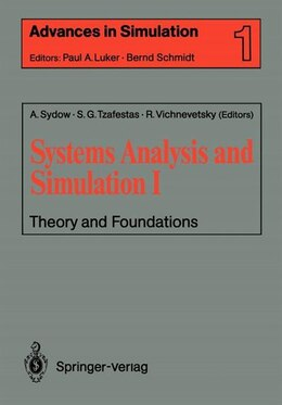 Book Systems Analysis and Simulation I: Theory and Foundations by Achim Sydow