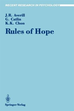 Book Rules of Hope by James R. Averill