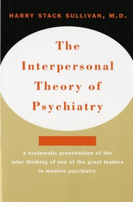 Book Interpersonal Theory Of Psychiatry by Harry Stack Sullivan