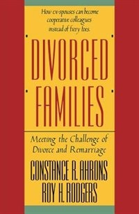 Book Divorced Families by Constance Ahrons