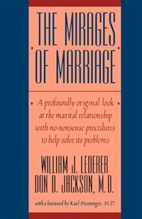 Book Mirages Of Marriage by William J Lederer