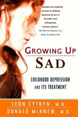 Book Growing Up Sad by Leon Cytryn