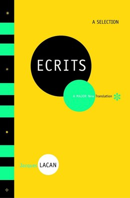Book Ecrits A Selection by Jacques Lacan