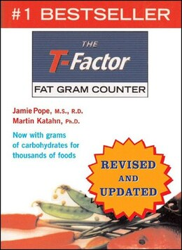 Book T Factor Fat Gram Counter by Jamie Pope