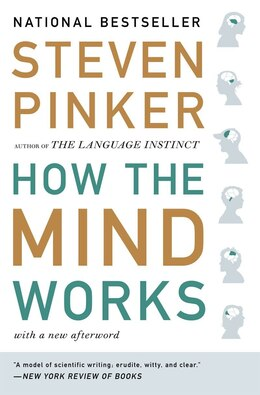 Book How The Mind Works by Steven Pinker