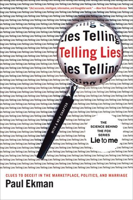Book Telling Lies: Clues To Deceit In The Marketplace Politics And Marriage by Paul Ekman