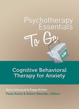 Book Cognitive Behavioral Therapy For Anxiety by Paula Ravitz