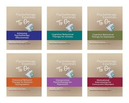Book Psychotherapy Essentials To Go 6 Book Set by Paula Ravitz