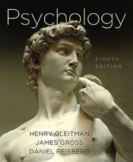 Book Psychology 8e by Hnery Gleitman