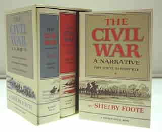 The Civil War, 3-volume Box Set by Shelby Foote