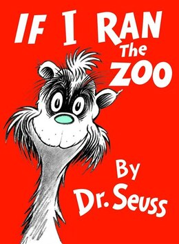 Book If I Ran the Zoo by Seuss