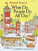 Book Richard Scarry's What Do People Do All Day by Richard Scarry