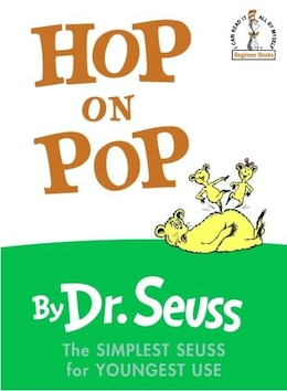 Book Hop on Pop by Seuss Seuss