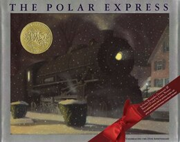 Book The Polar Express with CD: Twenty-fifth Anniversary Edition by Chris Van Allsburg