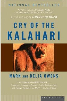 Book Cry of the Kalahari by Cordelia Dykes Owens