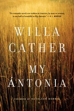Book My Antonia by Willa Cather