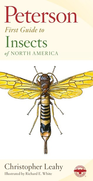 Peterson First Guide to Insects of North America by Christopher Leahy