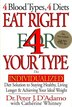 Eat Right 4 Your Type: The Individualized Diet Solution by Peter J. Dadamo