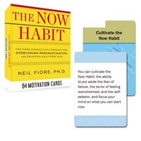 The Now Habit: 64 Motivation Cards: The Fiore Productivity Program For Overcoming Procrastination…