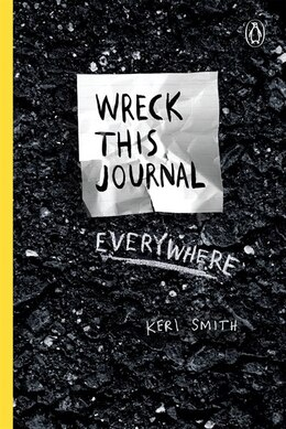 Book Wreck This Journal Everywhere by Keri Smith