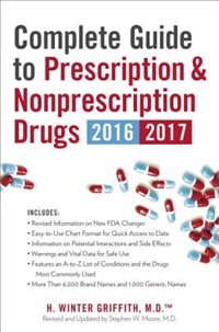 Book Complete Guide To Prescription & Nonprescription Drugs 2016-2017 by H. Winter Griffith