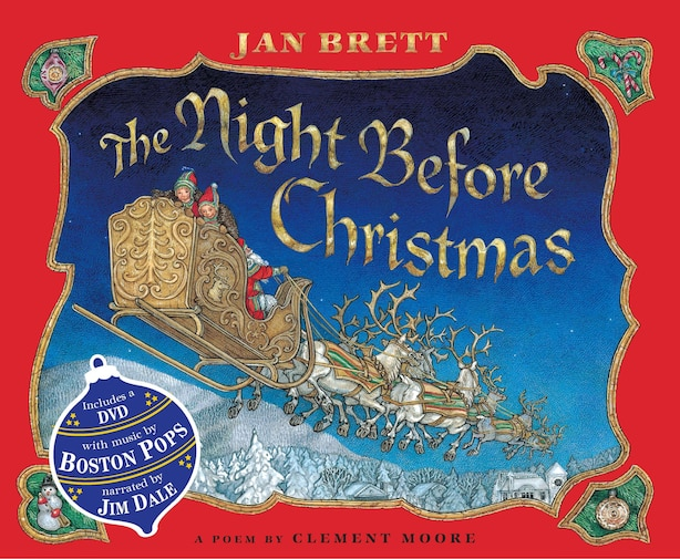 The Night Before Christmas: Book & Dvd by Jan Brett