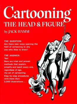 Book Cartooning The Head And Figure by Jack Hamm