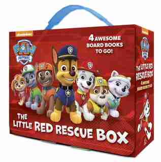 The Little Red Rescue Box (paw Patrol): 4 Board Books by Random House