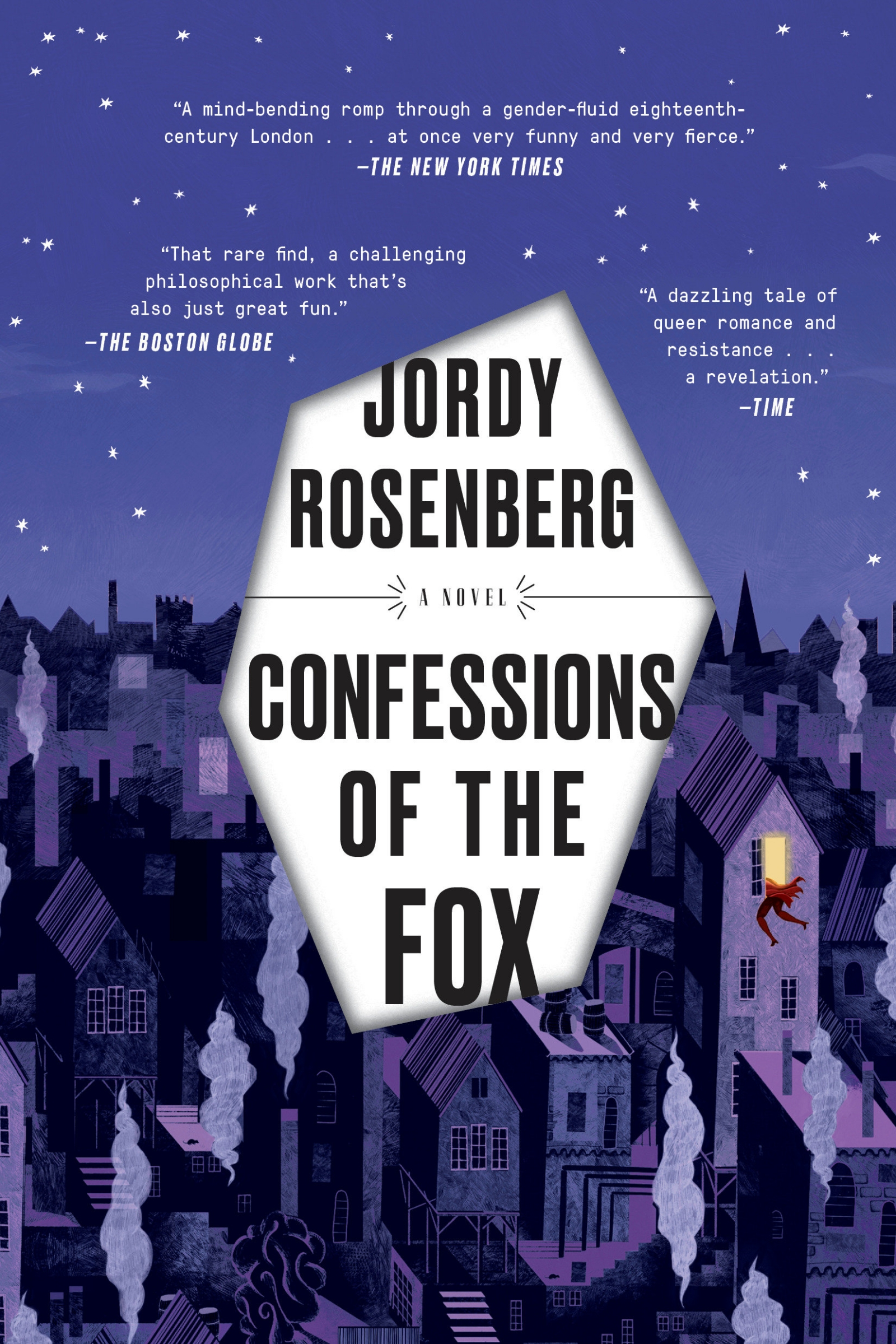 Book Confessions Of The Fox: A Novel by Jordy Rosenberg