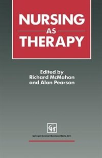 Book Nursing as Therapy by Richard McMahon