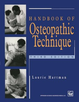 Book Handbook of Osteopathic Technique by Laurie S. Hartman